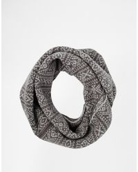 Jack & Jones - Gray Rush Snood for Men - Lyst