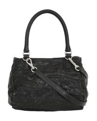 Givenchy Black Small Pandora Washed Nappa Leather