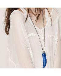 Jenny Bird - Blue Wildland Necklace - Large - Lyst