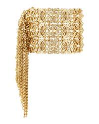 Kendra Scott - Metallic Ivy 14k Gold-plated Cuff Bracelet - Lyst