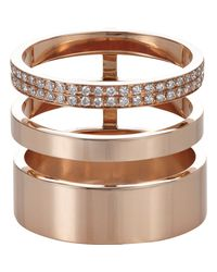 Repossi | Pink Berbere Module Triple-band Cage Ring | Lyst