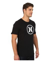 Hurley - Black Icon Dri-fit Tee for Men - Lyst