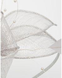 Coast - Metallic Pearl Bead Fascinator - Lyst