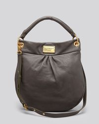 9d2736ef3ad Marc By Marc Jacobs Hobo - Classic Q Hillier in Gray - Lyst