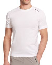 Porsche Design | White Core Cotton Tee for Men | Lyst