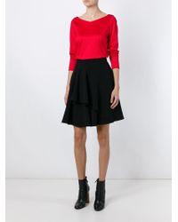 Dorothee Schumacher   Red V-neck Sweater   Lyst