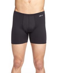 Naked | Black 'active' Microfiber Boxer Briefs for Men | Lyst