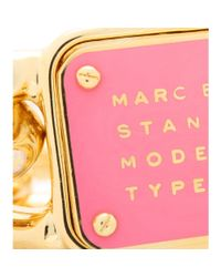Marc By Marc Jacobs Pink Standard Supply Bracelet
