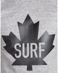 DSquared² - Gray Sexy Muscle Fleece Fit Sweatshirt for Men - Lyst