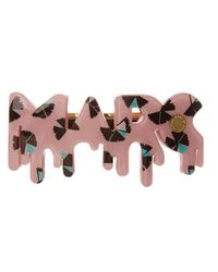 Marc By Marc Jacobs - Pink Pinwheel Barrette - Lyst