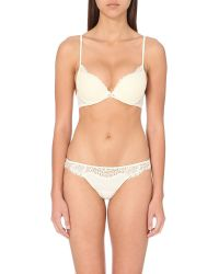 La Perla | Natural Freesia American Lace Padded Bra - For Women | Lyst
