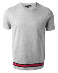 Gucci Gray Classic Tshirt for men