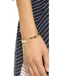 Elizabeth and James - Metallic Polaris Cuff Bracelet - Lyst