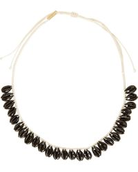 Isabel Marant | Black Seashell Necklace | Lyst