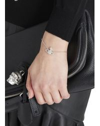 Vivienne Westwood | Metallic Silver Tone Swarovski Bracelet | Lyst
