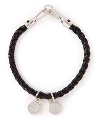 DIESEL | Black 'Altyse' Bracelet for Men | Lyst
