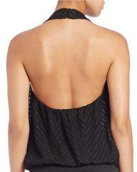 Guess Black Halter Bodysuit