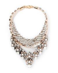Shourouk | Natural 'river' Necklace | Lyst
