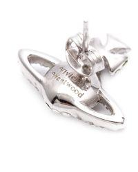 Vivienne Westwood | Metallic 'grace As Relief' Stud Earrings | Lyst