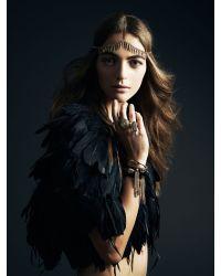 Jenny Bird Metallic Luna Warrior Wrap - Gold