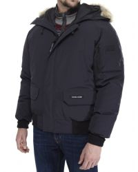 Canada Goose | Blue Chilliwack Bomber Jacket for Men | Lyst