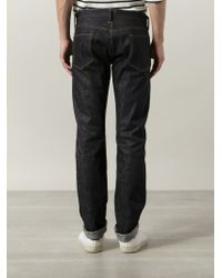 Simon Miller - Blue Slim Fit Jeans for Men - Lyst