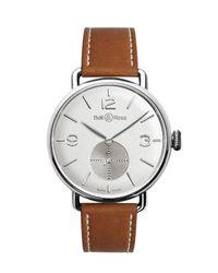 Bell & Ross Brown Argentium-opalin Watch