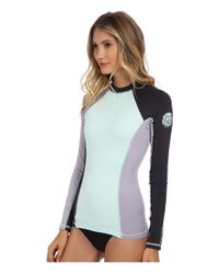 Rip Curl | Blue Surf Session Long Sleeve | Lyst