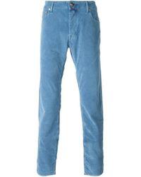 Jacob Cohen | Blue Vintage Effect Denim Jeans for Men | Lyst