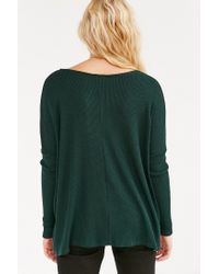 BDG - Green Mia Pocket Pullover Sweater - Lyst