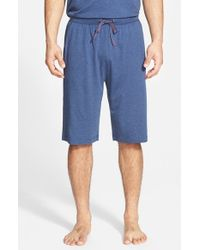 Tommy Bahama | Blue Cotton Blend Lounge Shorts for Men | Lyst