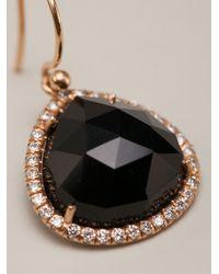 Irene Neuwirth Black Signature Earrings