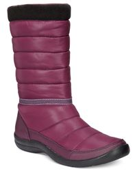 Easy Spirit | Purple Kingsland Cold Weather Boots | Lyst