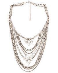 Lisa Freede - Metallic Kingsley Necklace - Lyst