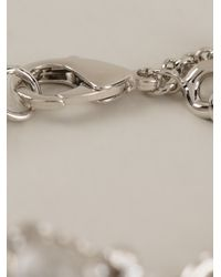 Roberto Cavalli Metallic Ring and Bracelet Set