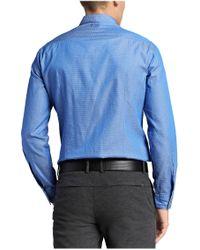 BOSS Blue Boss Green C-bavol Dobby Dot Shirt for men