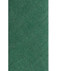 Burberry - Green Textured Cashmere Tie for Men - Lyst