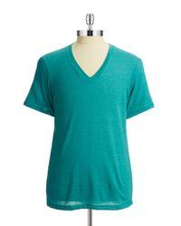 Alternative Apparel | Green V-neck Tee for Men | Lyst