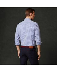 Ralph Lauren Purple Label | Blue Bengal Stripe Aston Shirt for Men | Lyst