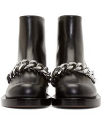 Givenchy Black Chain Laura Boots