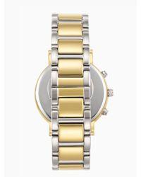 kate spade new york | Metallic Gramercy Grand Chronograph | Lyst