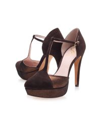 Vince Camuto Brown Akido Court Shoes