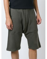 Silent - Damir Doma - Green 'penias' Shorts for Men - Lyst