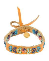 Scotch & Soda - Orange Bracelet - Lyst