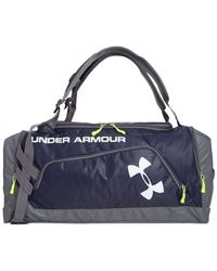 Under Armour | Blue Contain Duffel Backpack for Men | Lyst