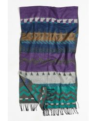 Urban Outfitters | Purple Patterned Woven Scarf for Men | Lyst