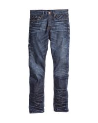 H&M | Blue Tapered Low Jeans for Men | Lyst