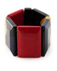 Marni - Black Faceted Stone Bracelet - Lyst