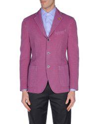 Lardini - Pink Blazer for Men - Lyst