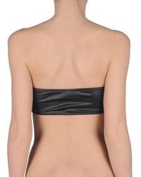 Laura Urbinati Black Bikini Top